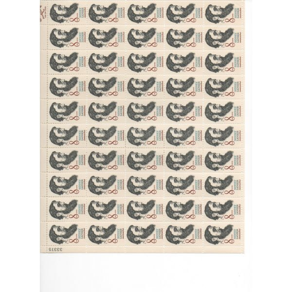 21: Sheet Album - Over 20 Sheets of stamps (SCV $256+)