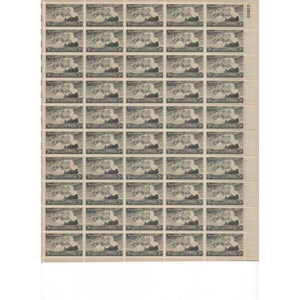 22: Sheet Album - Over 20 Sheets of stamps (SCV $238+)