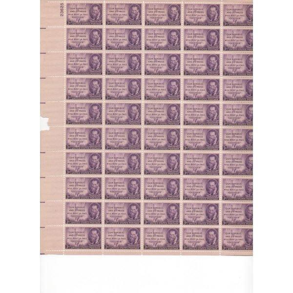 23: Sheet Album - Over 20 Sheets of stamps (SCV $234+)
