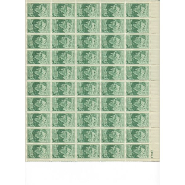 24: Sheet Album - Over 20 Sheets of stamps (SCV $260+)