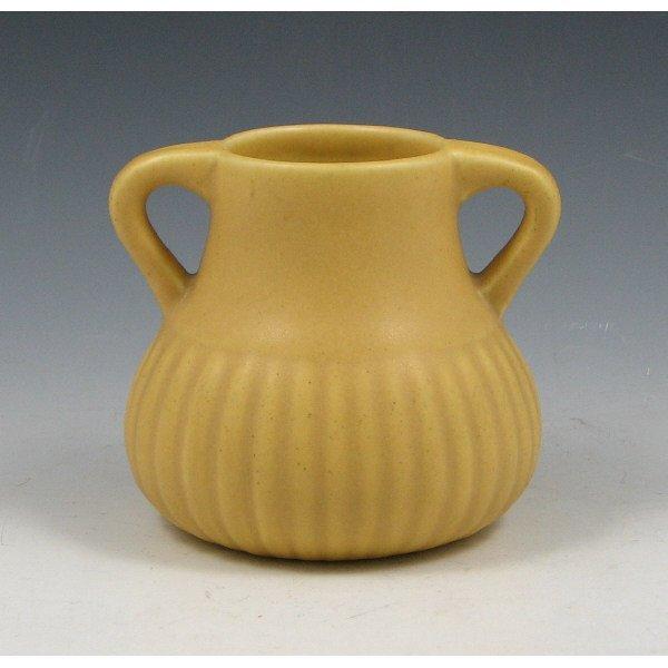 1008: Rookwood 1922 Yellow Matte Vase - Mint