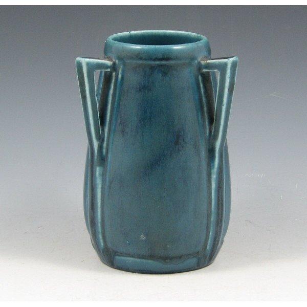 1009: Rookwood 1929 Matte Blue Arts & Crafts Vase
