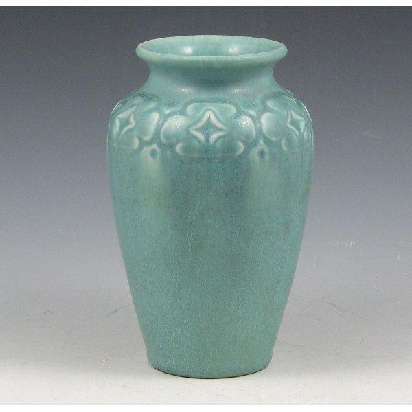 1010: Rookwood 1923 Matte Blue Vase - Mint