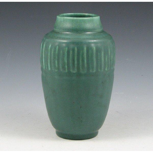 1013: Rookwood 1935 Matte Green Vase - Mint