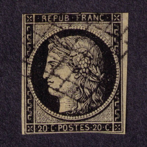 2328: France SC# 3 (SCV $40)