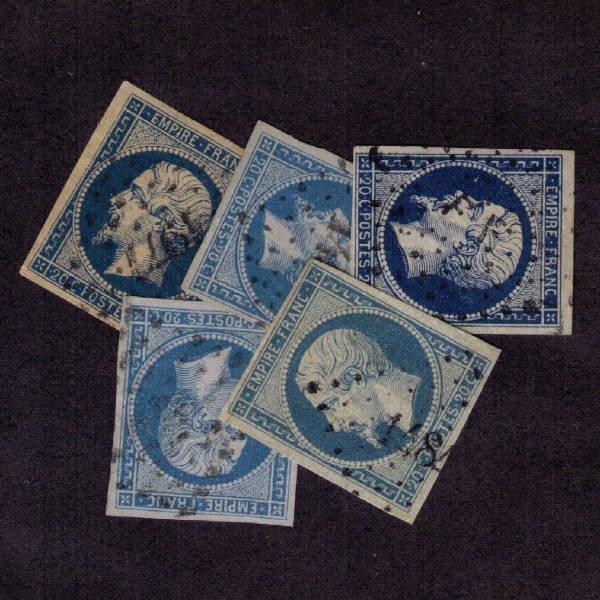 2329: France SC# 15 (Five, SCV $5)