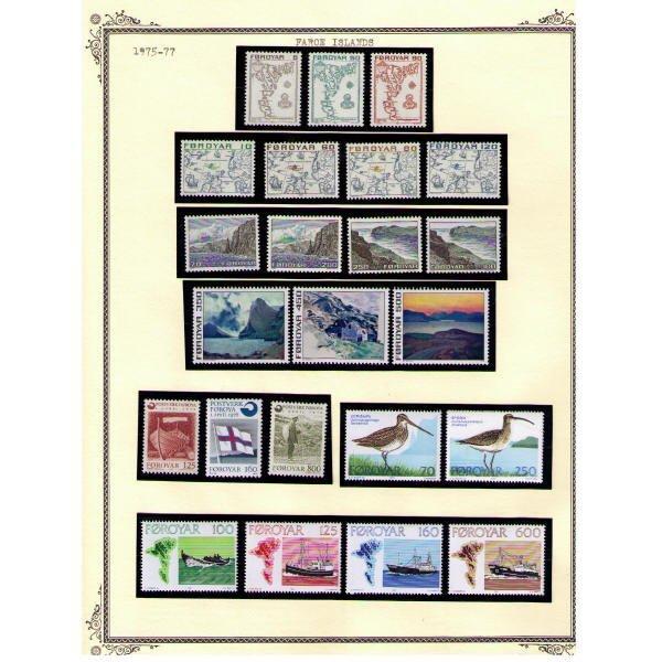 2332: Faroe Islands SC# 7-466 (530 Stamps, SCV $912+)