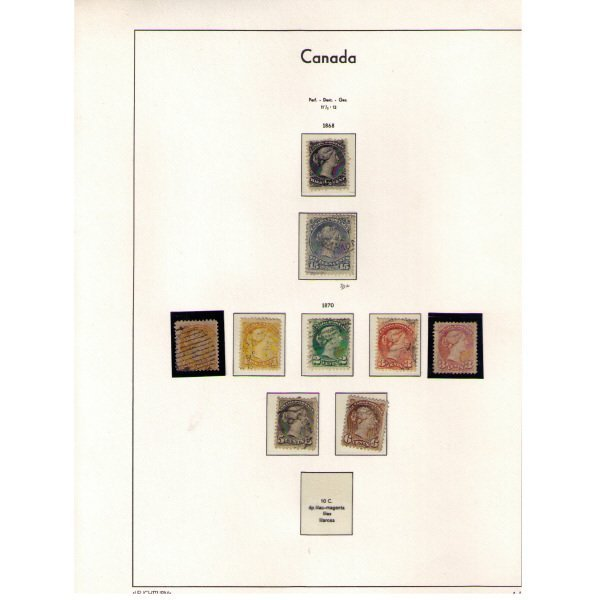 2345: Canada Stamps (Year: 1868-1987)