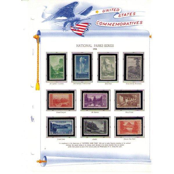 2347: United States Commemoratives Album