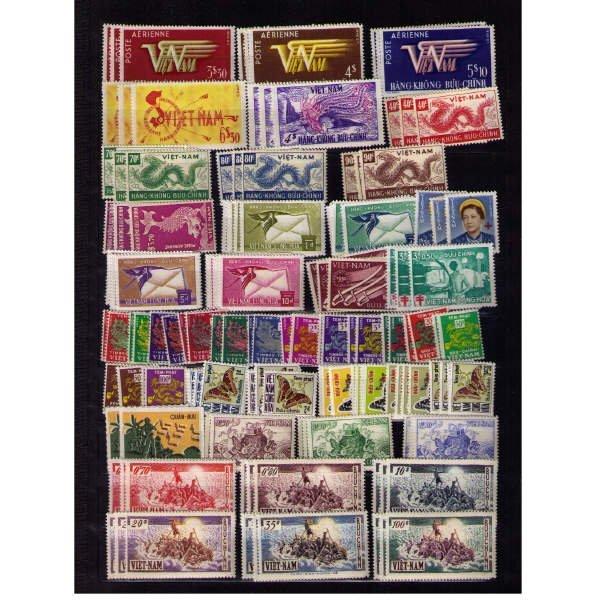 3083: South Viet Nam SC# 1-373, Air, Semis (SCV $2,030+