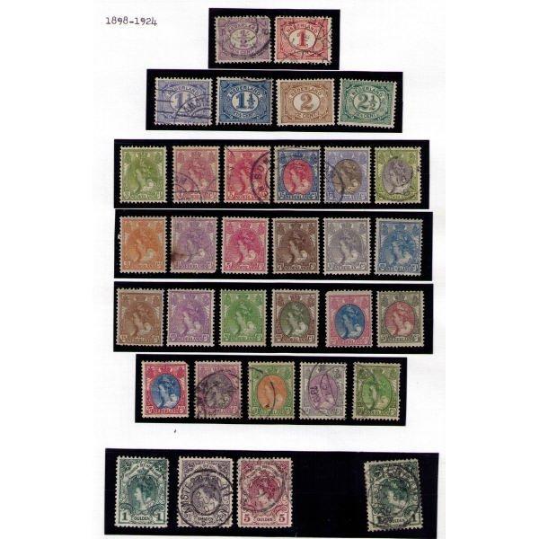 3130: Netherlands SC# 55-86, 83a (SCV $505+)