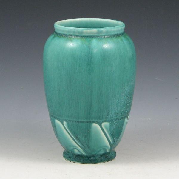 1: Rookwood 1928 Blue-Green Matte Vase - Mint