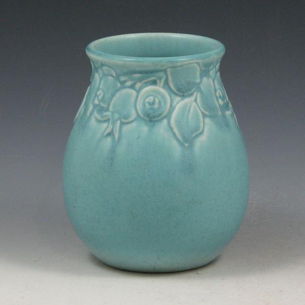 5: Rookwood 1947 Matte Blue Vase - Mint