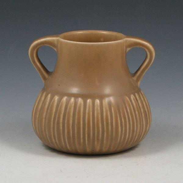 8: Rookwood 1922 Matte Brown Vase - Mint