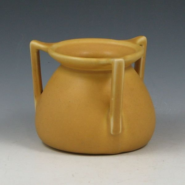 10: Rookwood 1921 Matte Yellow Vase - Mint