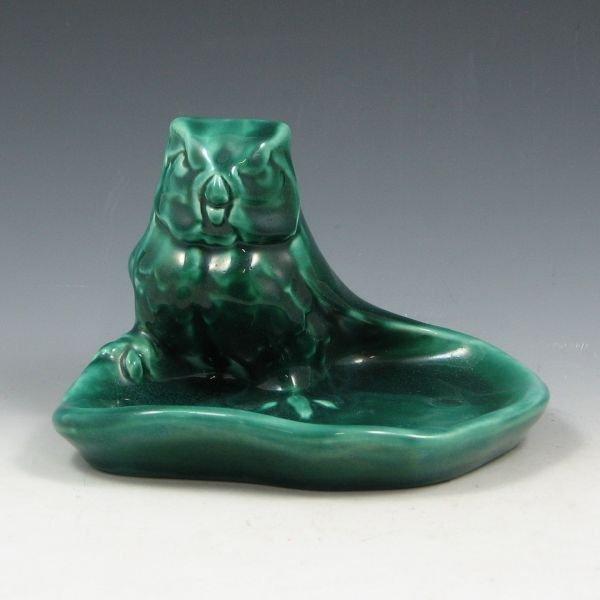 13: Rookwood 1946 Owl Tray - Mint