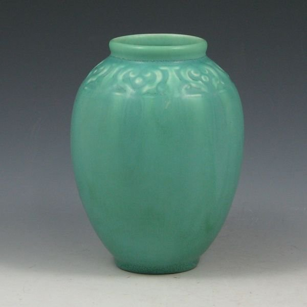 20: Rookwood 1930 Matte Sea Green Vase - Mint
