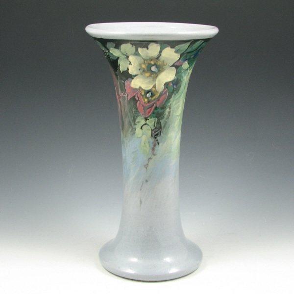 "1006: Weller Late Line Eocean 10 5/8"" Vase - Mint"