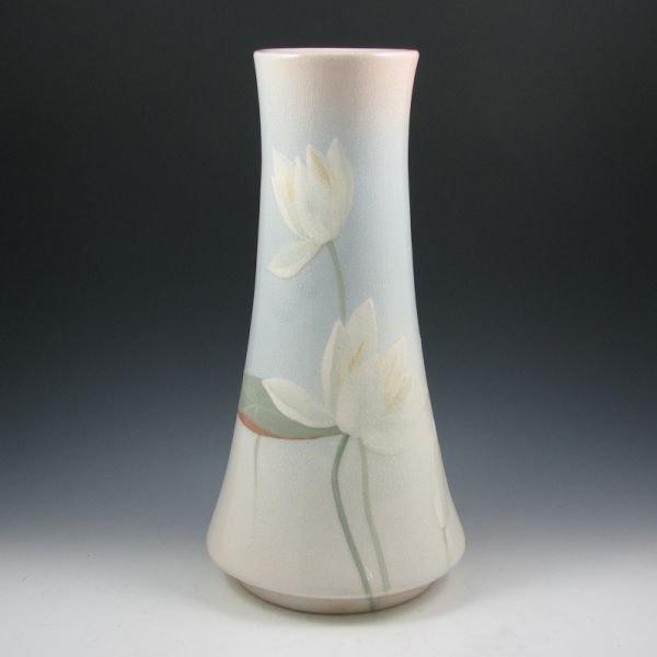 "1010: Owens Lotus 16 3/8"" Vase by Chilcote - Mint"