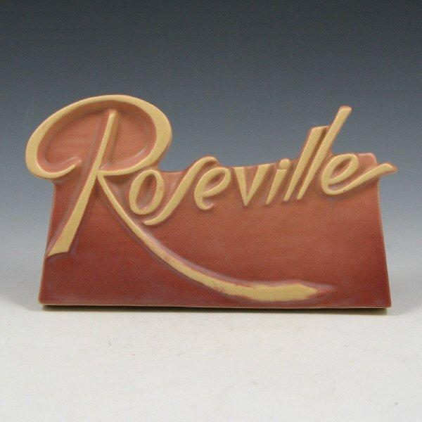 """1015: Roseville Script 8"""" Dealer Sign"""