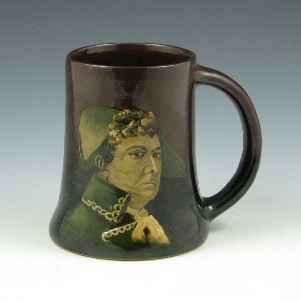 1018: Weller Dickens Ware I Admiral Portrait Mug