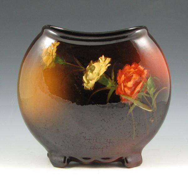 1023: Weller Louwelsa Carnation Pillow Vase by Roberts