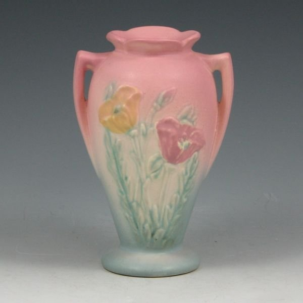 "17: Hull Poppy 607-4 3/4"" Vase - Mint"