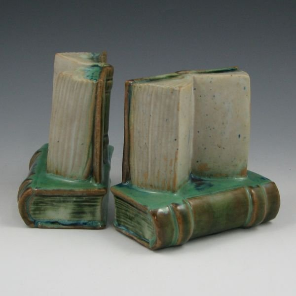"1002: Fulper Book 4 3/4"" Bookends (Pair)"