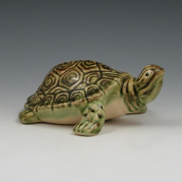 "1013: Brush McCoy 6 1/2"" Turtle Figurine - Mint"