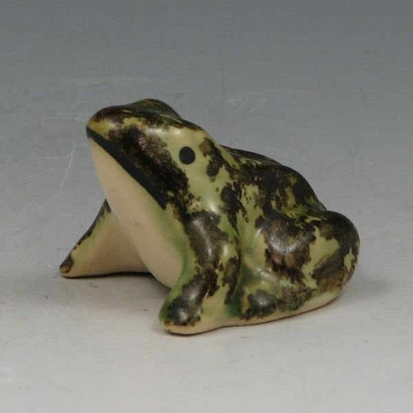 "1019: Brush McCoy Miniature 2"" Frog Figurine - Mint"