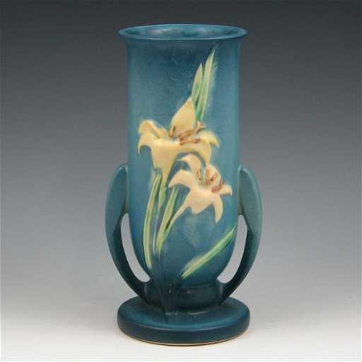 1789 Roseville Zephyr Lily 133 8 Vase Mint