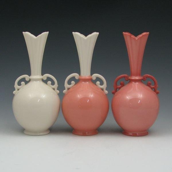1305: Lenox Handled Vases (Three) - Mint