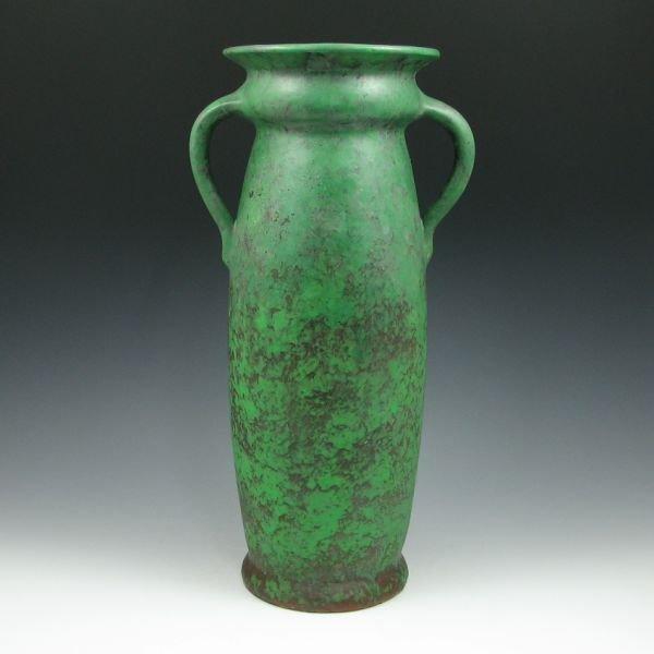 """1816: Weller Coppertone 15 5/8"""" Floor Vase"""