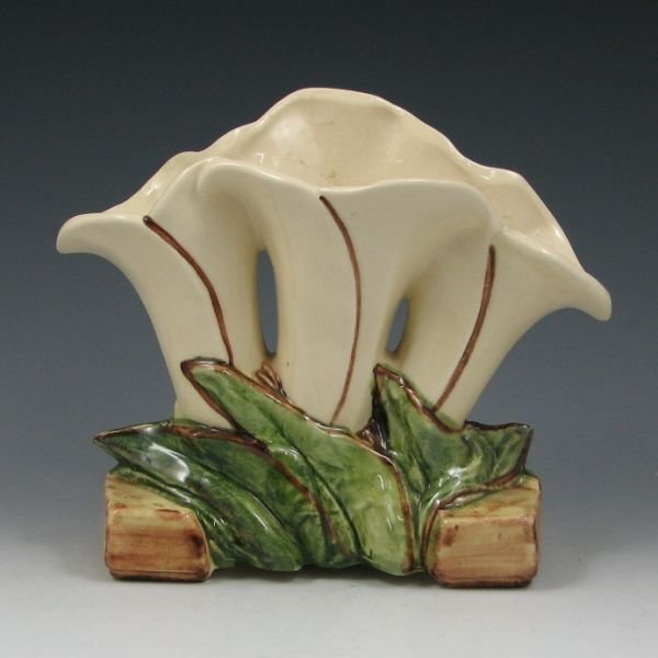 2106: McCoy Triple Lily Vase