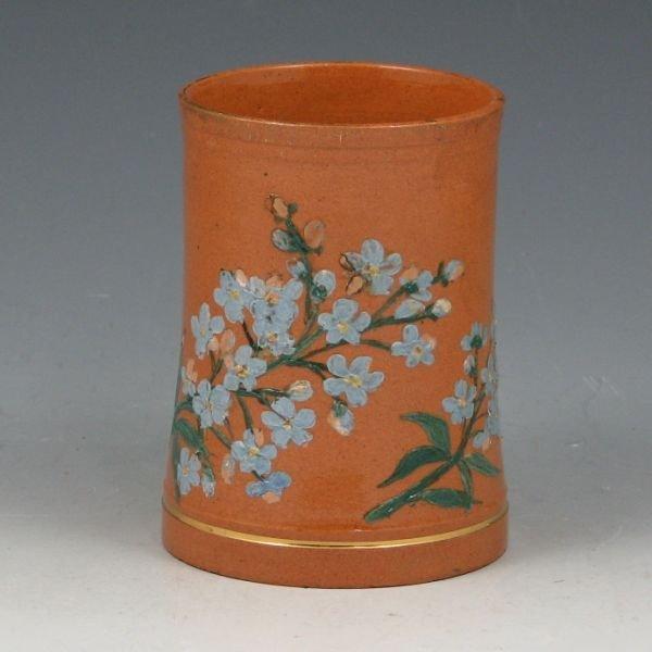 """2107: Matt Morgan 3 5/8"""" Artist Signed Vase or Cup"""