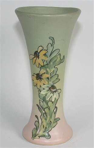 """Weller Hudson 8 7/8"""" Vase by D. England - Mint"""