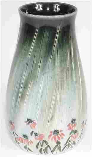 "Tim Eberhardt Rain & Daisy 6 1/4"" Vase - Mint"