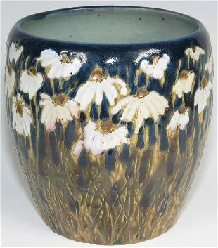 Tim Eberhardt Early Daisy Vase from 1995 - Mint