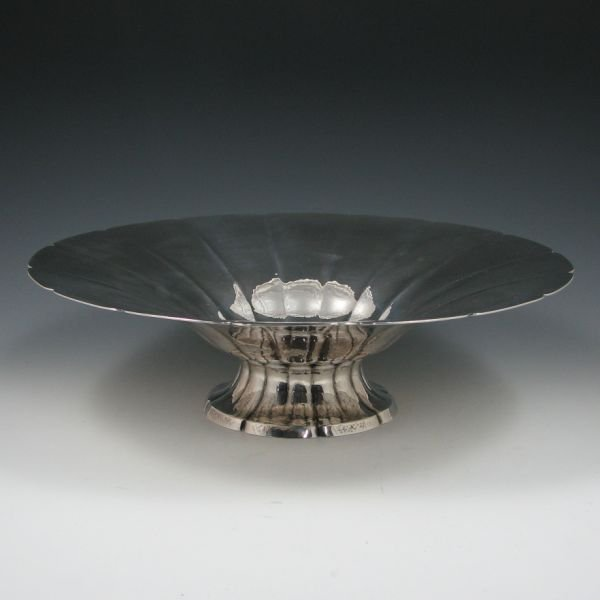 "1820: Tiffany Sterling Silver 15 1/4"" Presentation Bowl"