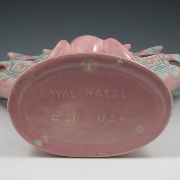 1300: Royal Haeger R31 Peacock Vase - Mint - 2