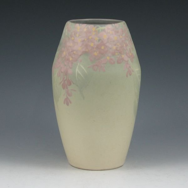 """1: Weller Hudson Light 7 3/4"""" Vase - Excellent"""