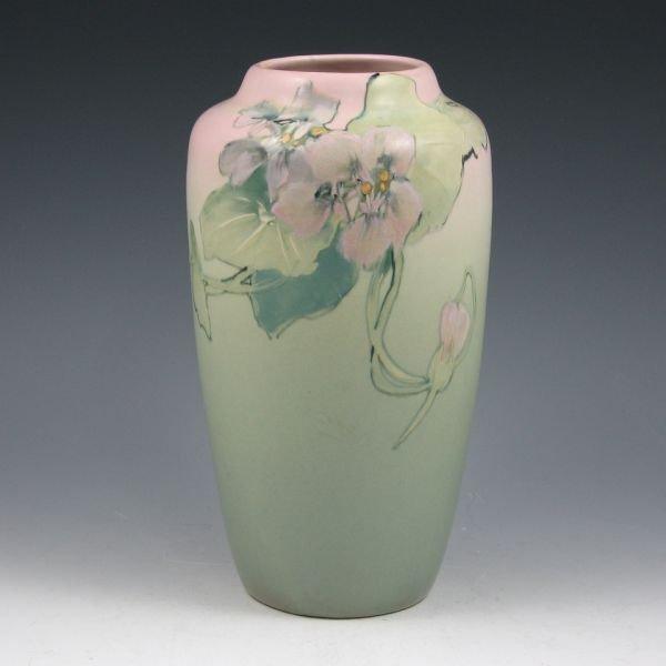 """8: Weller Hudson 9 1/4"""" Vase by Pillsbury - Mint"""