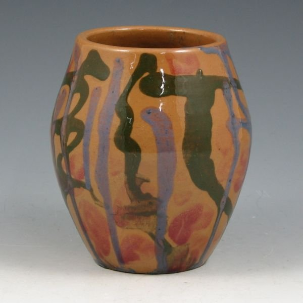 """19: UND School of Mines 4 1/2"""" Vase by Mattson - Exc."""