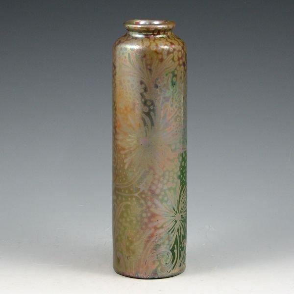 """49: Weller Sicard 7 3/4"""" Spider Mum Vase"""
