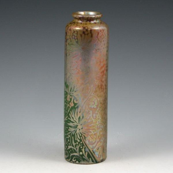 """49: Weller Sicard 7 3/4"""" Spider Mum Vase - 2"""