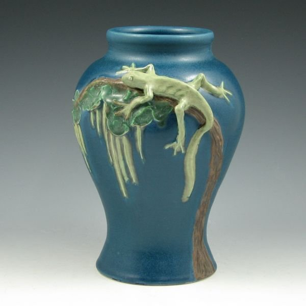 "82: Chris Powell & Scott Draves 8 3/4"" Vase - Mint"