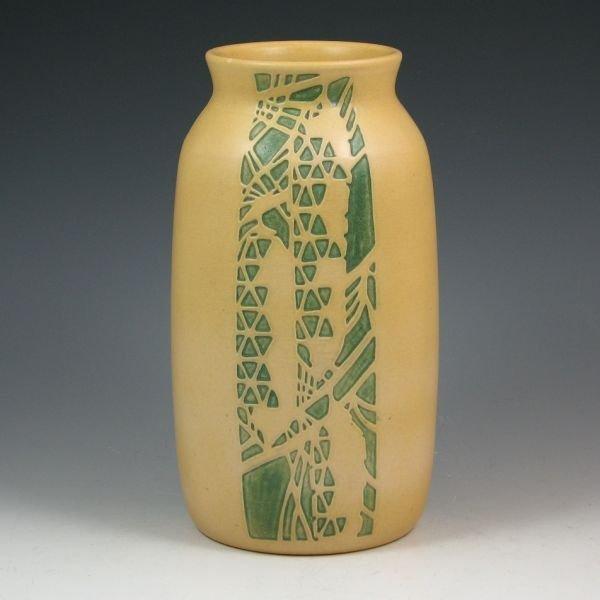 "132: Overbeck Pine Cone 9"" Vase by Hannah & Elizabeth"