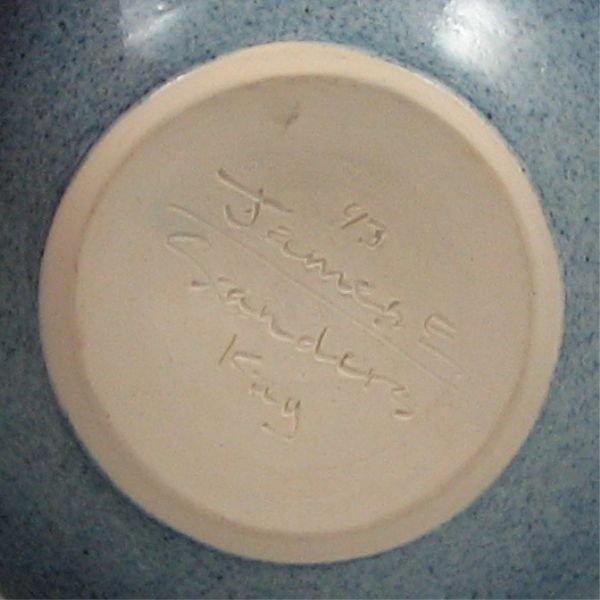267: James Sanders Studio Vase - Mint - 2