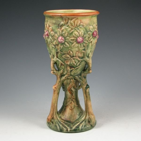 9: Weller Woodcraft Tree Chalice Vase - Mint