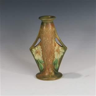 Roseville Dahlrose Bud Vase